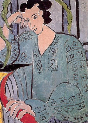 Henri Matisse, The Romanian Green Bluse, 1939