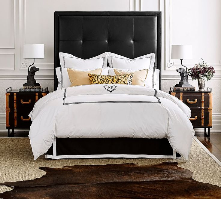 Best 25 Leather Headboard Ideas On Pinterest Dark Green