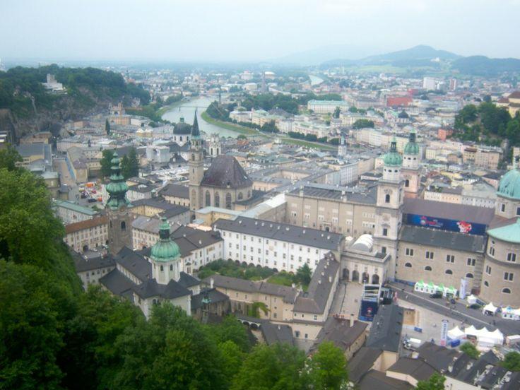 Salzburg in a wheelchair