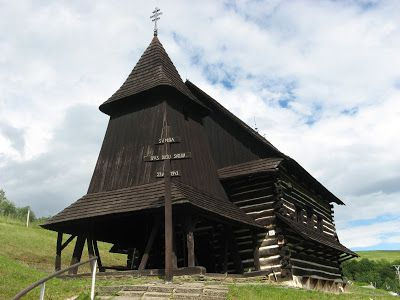 Wooden Churches and Folk Architecture of the Carpathian Mountains: Brežany, Slovakia