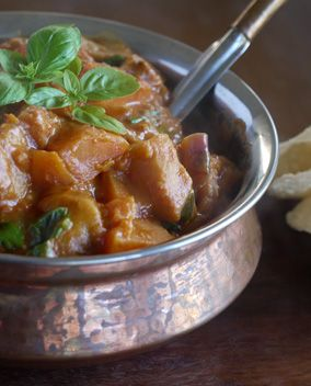 Eggplant and Sweet Potato Curry - enlarge
