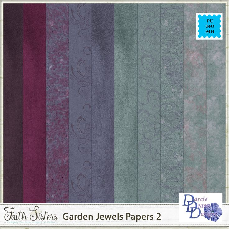 Garden Jewels Papers 2