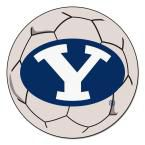 Ncaa Brigham Young University Cream (Ivory) 2 ft. 3 in. x 2 ft. 3 in. Round Accent Rug