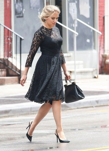 Scarlett Johansson - Matthew McConaughey and Scarlett Johansson Film in NYC