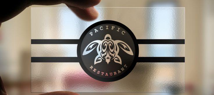 Pacific Restaurant Logo Design   Oregon Logo Design