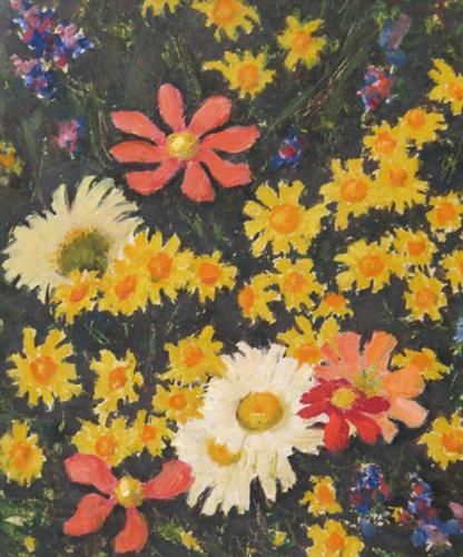 Field Flowers - Nicolae Tonitza