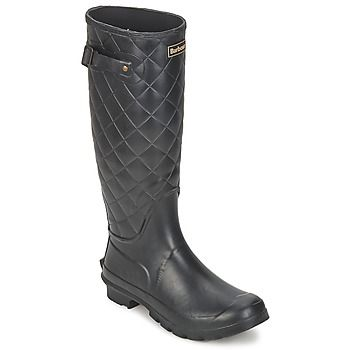 Gorgeous quilted upper on these Barbour wellies, perfect for wet Autumn weather!