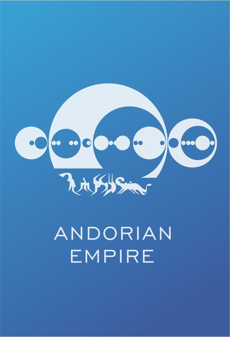 Star Trek Logo Andorian Empire Flat Design