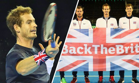 Davis Cup 2016: TV times and draw as Andy Murray and Team GB take on Argentina in Glasgow