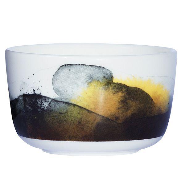 Sääpäiväkirja Oiva bowl 2,5 dl, brown, by Marimekko.