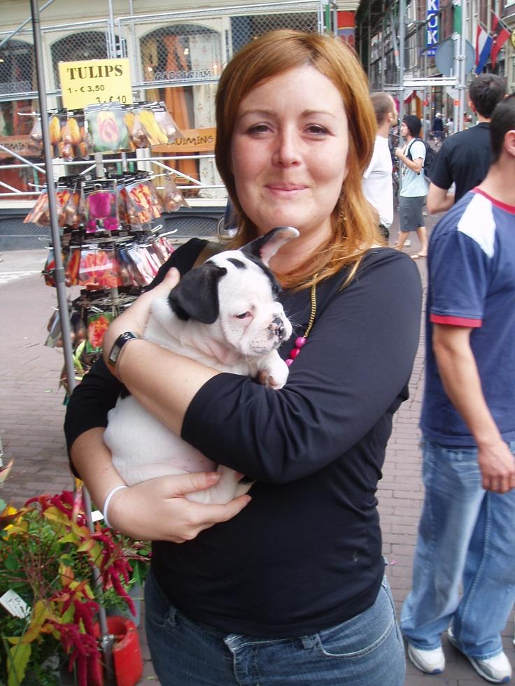 puppies. Soooo cute :) #makesmehappy @White Stuff UK
