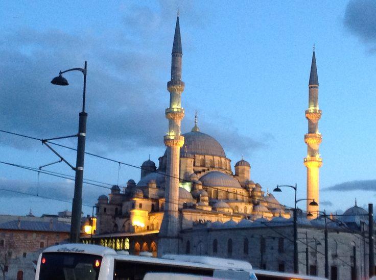 The blue moske