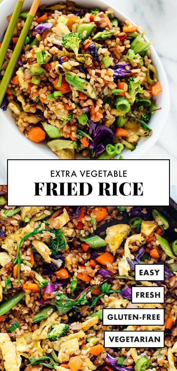 Extra Vegetable Fried Rice Cookie And Kate In 2020 Vegetarian Recipes Healthy Vegetarian Meal Prep Vegetarian Recipes Dinner