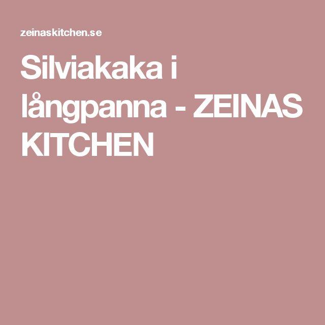 Silviakaka i långpanna - ZEINAS KITCHEN