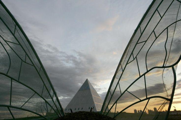 Palace of Peace and Harmony in Astana, Kazakhstan