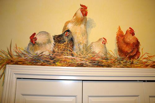 Chickens. Shelley Grund