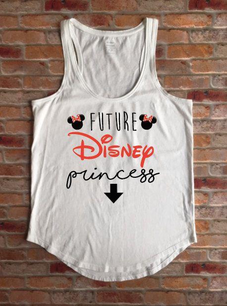 Future Disney Princess, Maternity Disney Shirt, Minnie Mouse Disney, Expecting Mom Disney, Baby Shower Gift, Disney Gift, Disney Maternity by KyCaliDesign on Etsy
