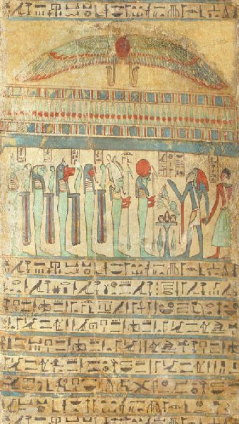 frescoes in the Egyptian style ienterere