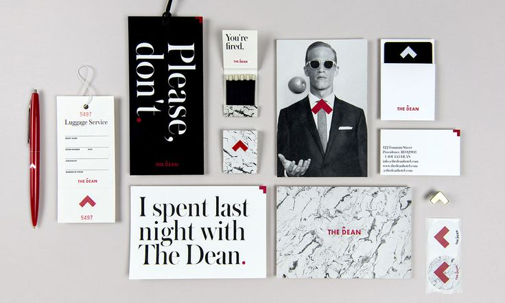 Brand Identity Love: The Dean Hotel in Providence, RI
