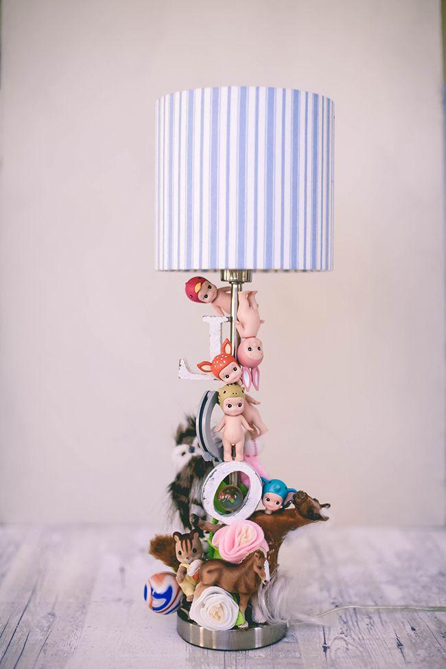 DIY toy lamp