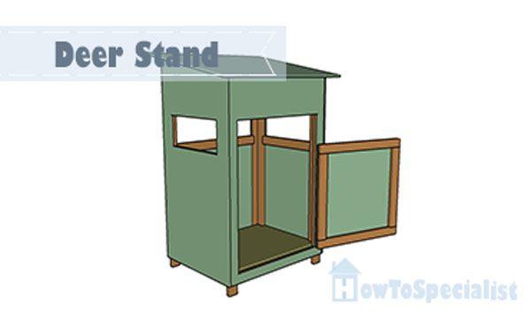 Deer stand plans