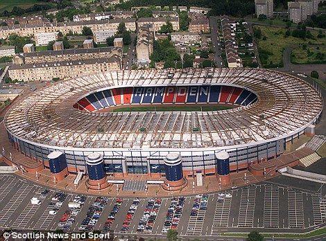 Hampden Park football ground has been revamped