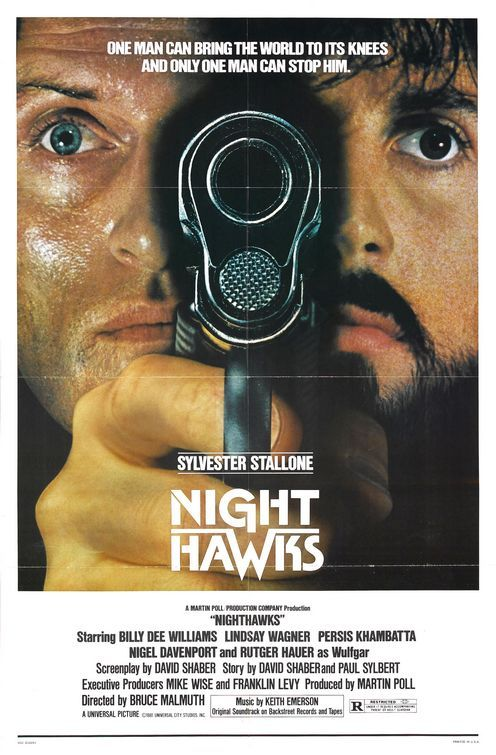 Rutger Hauer, Sylvester Stallone, and Billy Dee Williams - SRSLY