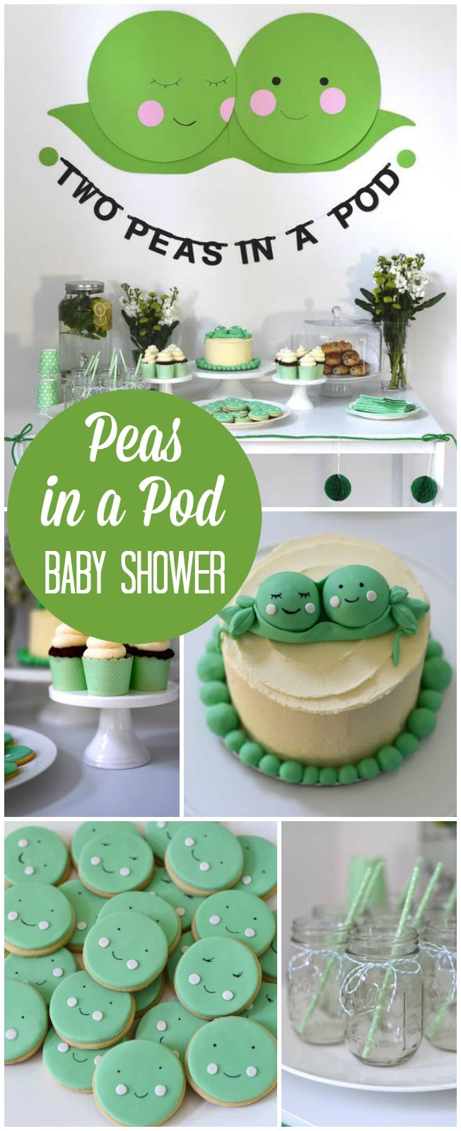 25 best ideas about twin baby showers on pinterest baby for Baby shower decoration ideas for twins