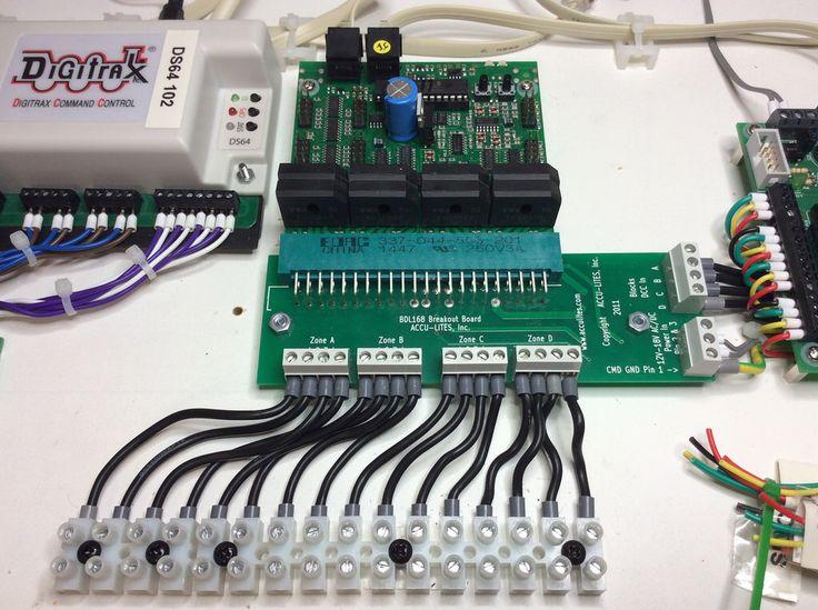 Digitrax Block Detector Bdl168 Digitrax Dcc Pinterest