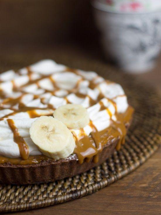 Banoffe Pie (Platano + nata + dulce de leche = AMOR!) - Objetivo: Cupcake Perfecto.
