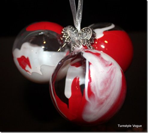 17 best images about clear glass ornament ideas on for Clear christmas bulbs for crafting