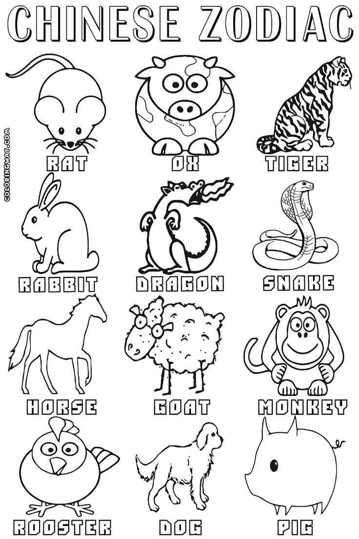 Zodiac signs coloring pages Coloring pages to download