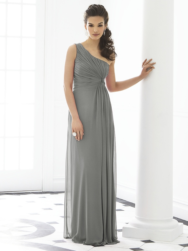 14 best Grey Bridesmaid Dress images on Pinterest   Bridal gowns ...