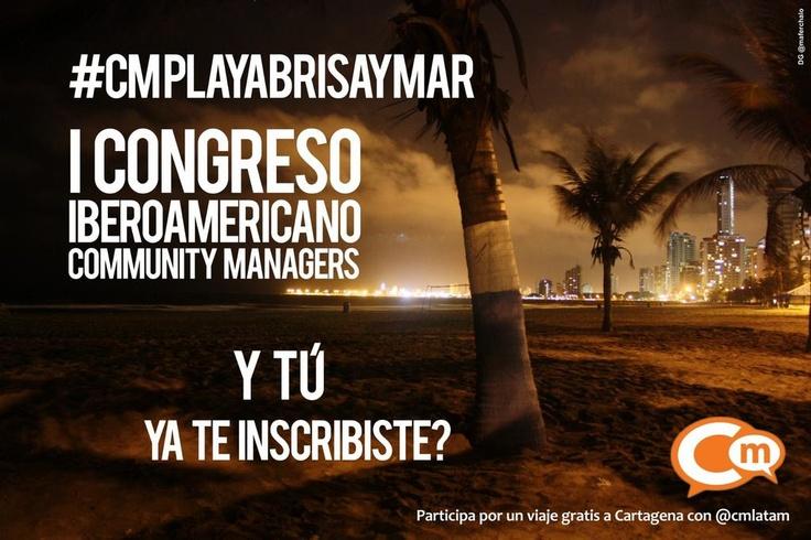 Congreso Iberoamericano Community Managers 2012. #CMPlayaBrisayMar