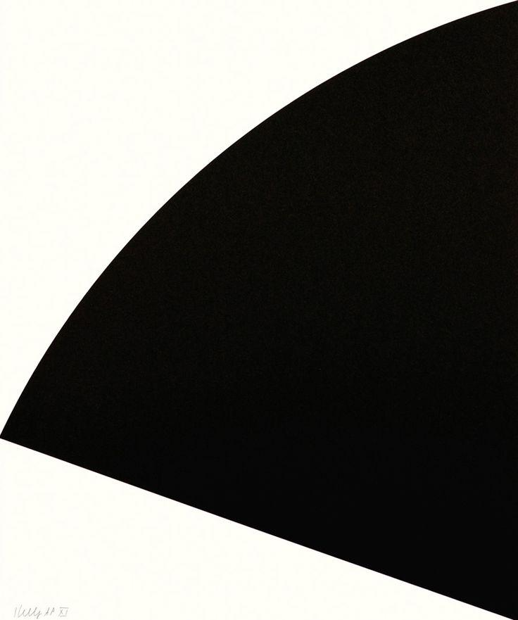 Ellsworth Kelly - Black Curve 1993