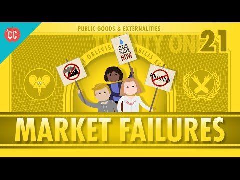Market Failures, Taxes, and Subsidies: Crash Course Economics #21 - YouTube