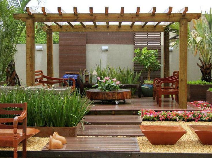 venda e para alugar  Pergolado para um jardim mais romântico