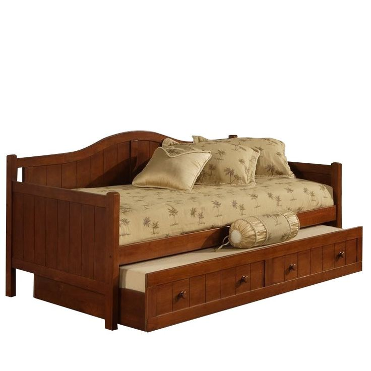 Lowest price online on all Hillsdale Staci Wood Daybed in Cherry Finish With Trundle - 1526DBT