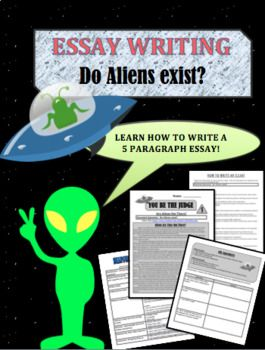 This is a reading and writing assignment that that looks at whether or not aliens exists. Here is what is in the packet: 1. A one page read looking at whether or not aliens exists. 2. A worksheet with questions about the reading. 3. A how to write your