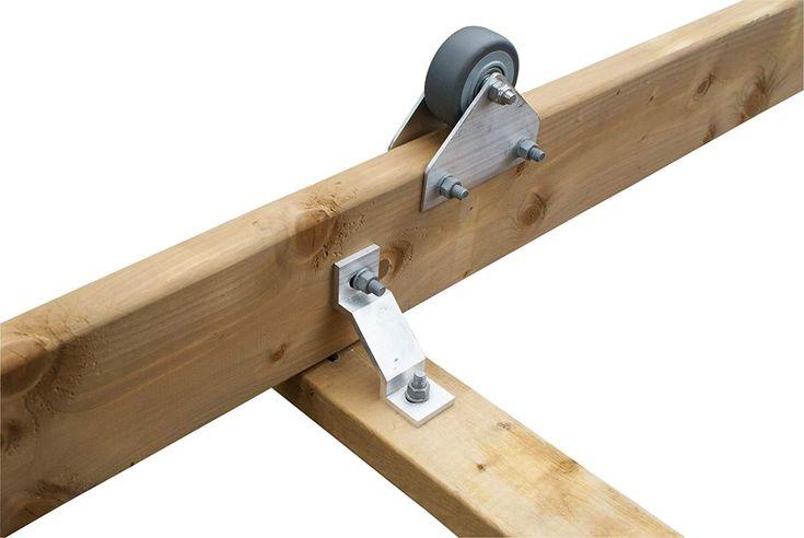 Dock Edge 1200 Capacity Ramp PWC Wheel Kit, 3.5Inch