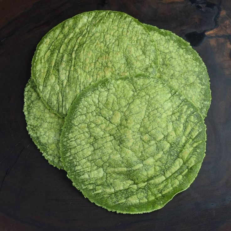 Kale and Spinach Tortillas made with @ottosnaturals Cassava Flour | Simply That Paleo Guy