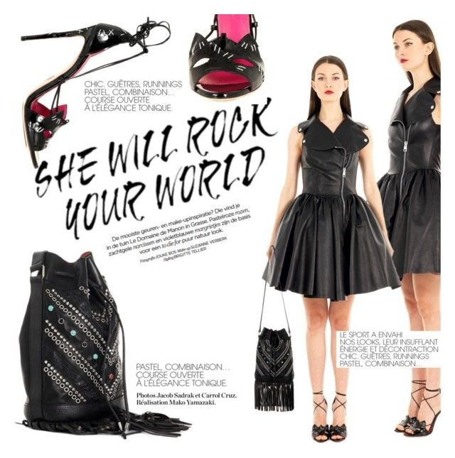 Rock your World! by thequeenstore on Polyvore featuring moda, Alessandra De Tomaso , HTC Los Angeles and Oscar Tiye