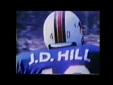 J.D. Hill football highlights (Arizona State and Buffalo Bills) - YouTube