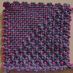 Many, many different handwoven weave structures to do on the zoom Loom