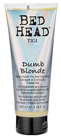 Once a week treatment for me :-) TIGI Bed Head Dumb Blonde Reconstructor