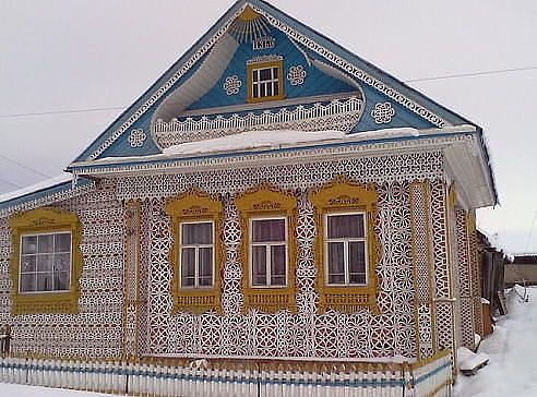 HOUSE OF K.K.MURATOV village SOYMINTSY of Palekh  DISTRICT , Ivanovo region.
