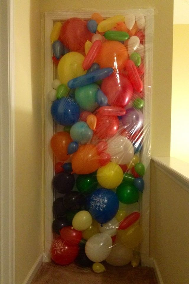 Pinterest the world s catalog of ideas for Balloon decoration ideas for 18th birthday