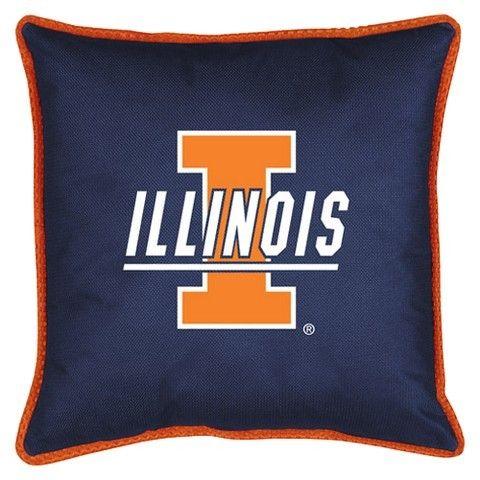 NCAA Illinois Fighting Illini Locker Room Pillow