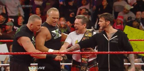 The New Age Outlaws, Rowdy Roddy Piper, and CM Punk