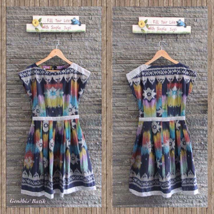 Tenun Jepara + Linen + Lining Tricot, by Gendhis Batik